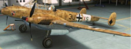 Шкурка камуфляж для Messerschmitt Bf.110C-6 -- North Africa
